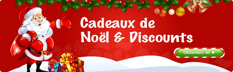 Wondershare Offre des Cadeaux Incroyables et des Prix Sacrifiés pour Noël noel-banner-fr